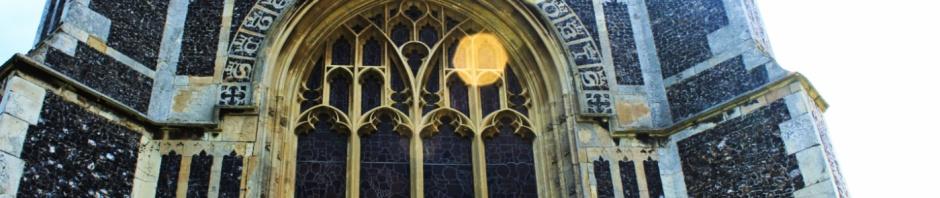 West face, St Edmunds church, Southwold