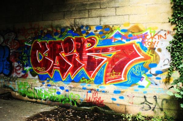 Graffiti on Marriots Way