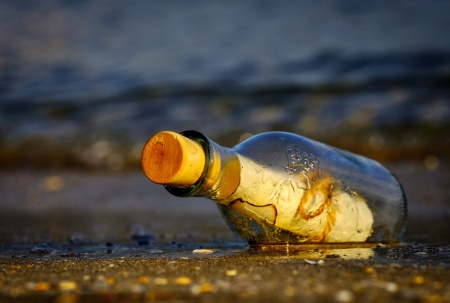 message-in-a-bottle by Atlantios