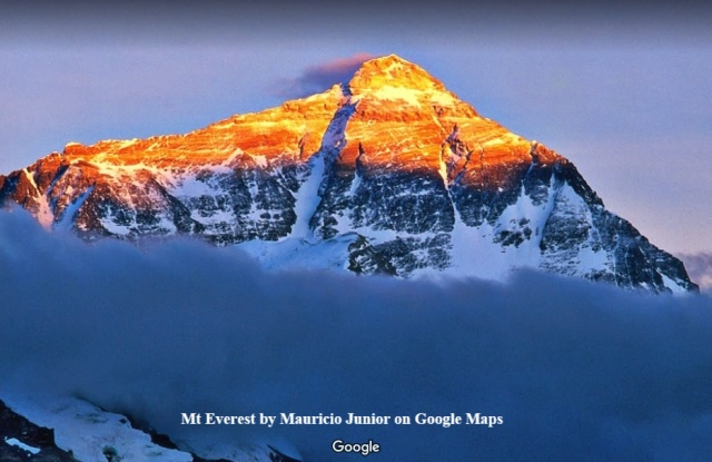 Mt Everest by Mauricio Junior Pegman