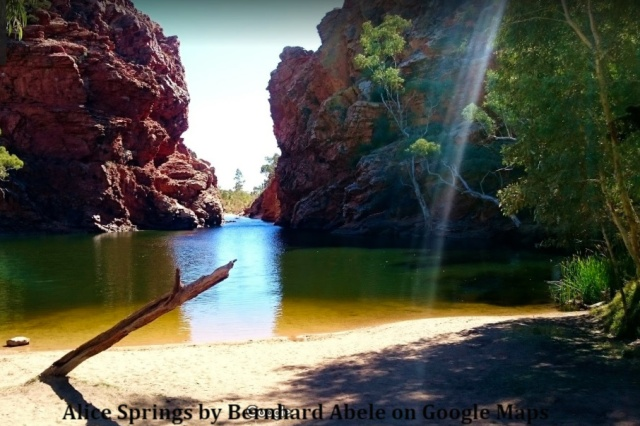 Alice Springs by Bernhard Abele