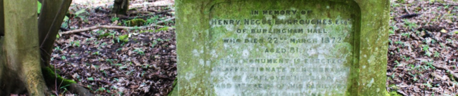 sepulchre, Burlingham