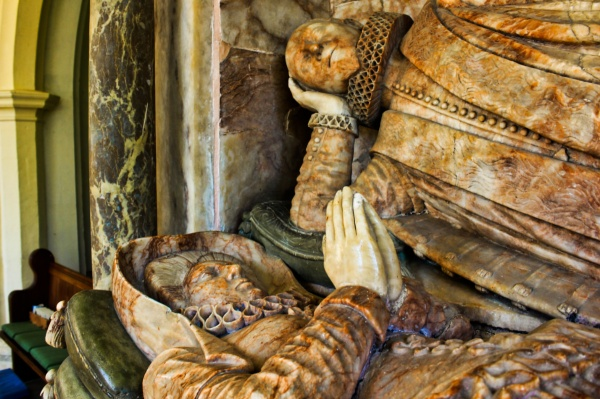 Myles Branthwaite effigy