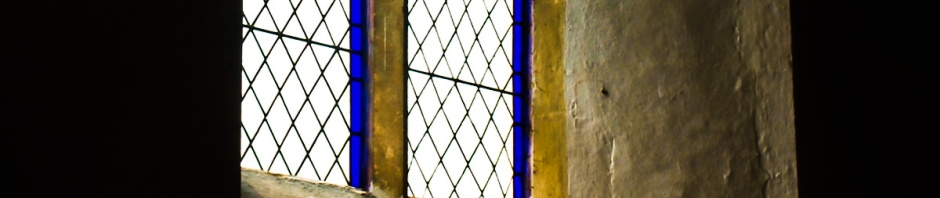 Wacton church window